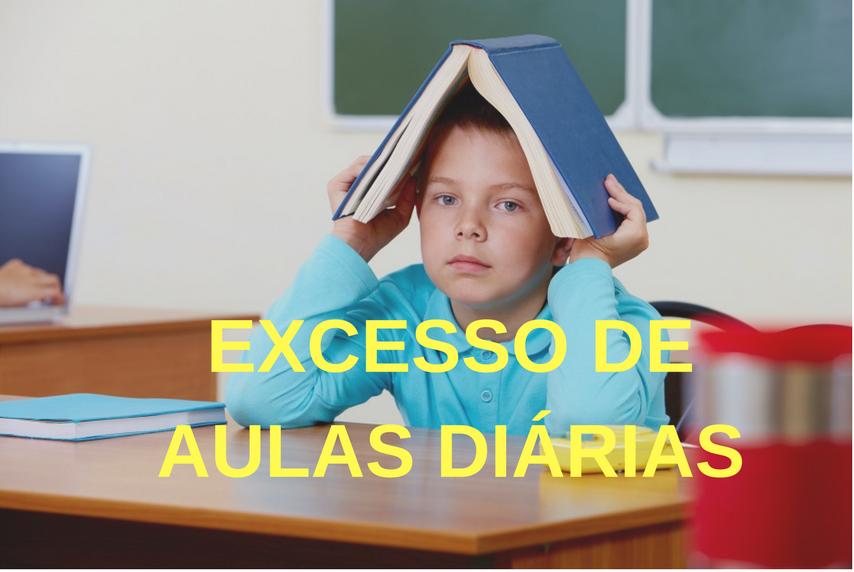 Evitar o excesso de aulas diárias: Como?